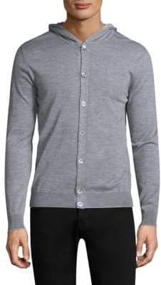 Eleventy Fine Gauge Button Cardigan