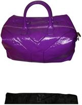 Saint Laurent Purple Patent leather Handbag