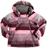 Molo Waterproof Striped Nylon Ski Jacket