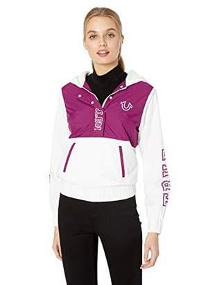 True Religion Women's Nylon Windbreaker Jacket