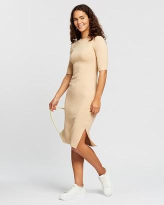 Atmos & Here Ali Knit Midi Dress