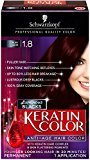 Schwarzkopf Keratin Hair Color, Ruby Noir 1.8, 2.03 Ounce