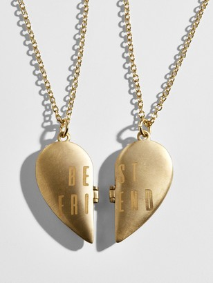 BaubleBar Hope Friendship Necklace Set