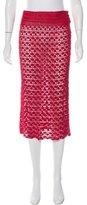 Dolce & Gabbana Crochet Midi Skirt