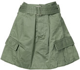 Marc Jacobs military skirt - women - Cotton - 0