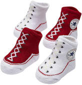 Converse Baby Chuck Taylor Knit Booties Red