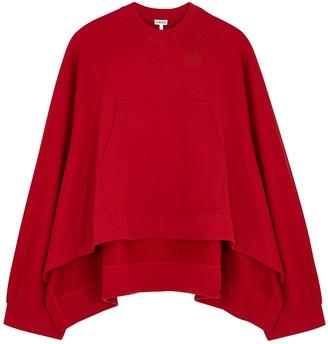 Loewe Red cotton sweatshirt