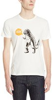 French Connection Men's Toy Growl Dinosaur T-Shirt
