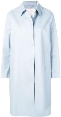 MACKINTOSH Pale Blue Bonded Cotton Coat LR-020