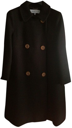 See by Chloe Black Cotton Coat for Women