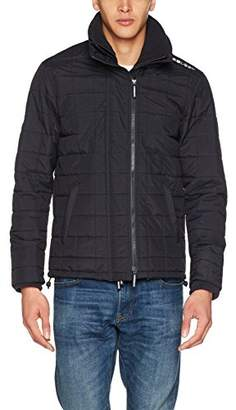 Superdry Men's Quilted Athletic Windcheater Track Jacket,L