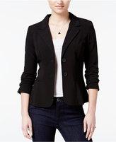 Amy Byer Juniors' Two-Button Blazer