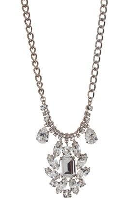 Dolce & Gabbana Crystal Cluster Pendant Necklace