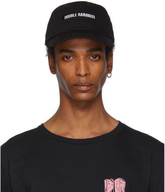 Double Rainbouu Black Hippy Cap