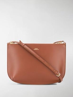 A.P.C. Adjustable Strap Cross Body Bag