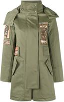 Valentino embroidered parka - women - Cotton - 40