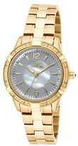 "Invicta Women's 18034 ""Angel"" Diamond-Accented 18k Gold Ion-Plated Stainless Steel Watch"