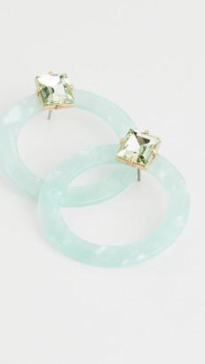 For Love & Lemons Afton Lucite Earrings