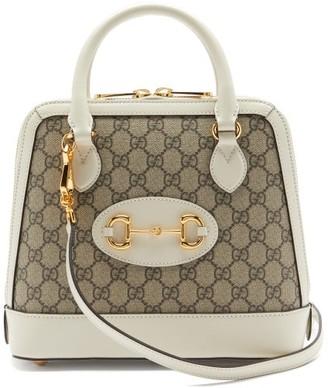 Gucci 1955 Hosebit Gg-supreme Canvas Bag - White Multi