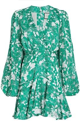 Alexis Neala Floral Mini Dress