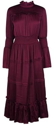 Biba Ruffle Midi Dress