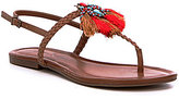 Jessica Simpson Kyran Tassel Detailed Flat Sandals
