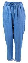 Seafolly Blue Beach Pants Carribean Kool.