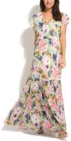 Solange Pink Floral Maxi Dress
