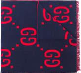 Gucci GG Supreme print scarf