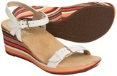 Vionic Technology Enisa Wedge Sandals - Leather (For Women)