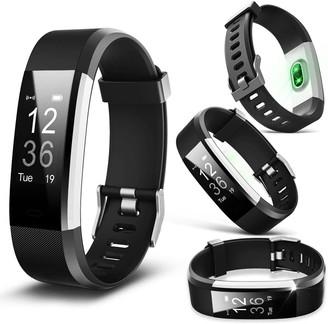 Aquarius Heart Rate Monitoring Fitness Tracker Aq125Hr Black