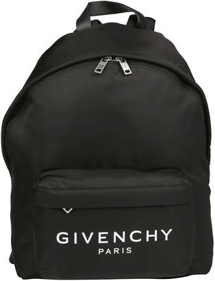Givenchy Paris Logo Zip Backpack