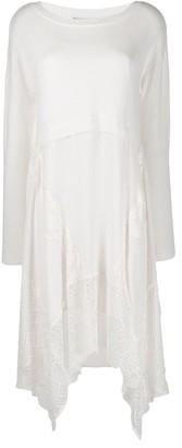 Twin-Set Lace Trimmed Jumper Dress