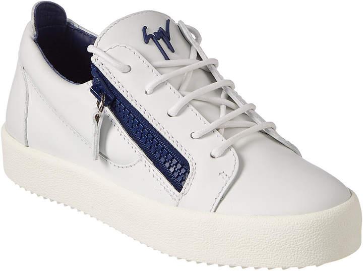 Giuseppe Zanotti Leather Low-Top Sneaker