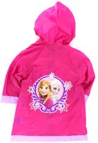 Disney Frozen Elsa and Anna Girls Rain Slicker Raincoat (L(6/7))