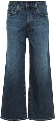 AG Jeans Etta high-rise wide jeans