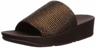 FitFlop Women's Ginny Glitz Pool Slide Sandal