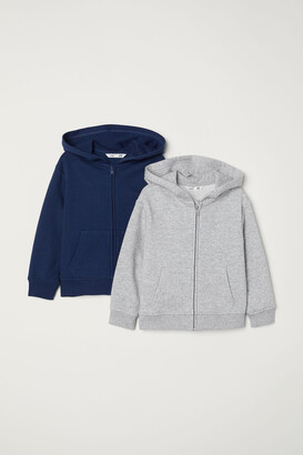 H&M 2-pack Hooded Jackets - Gray