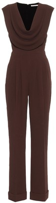 Emilia Wickstead Desma stretch-crepe jumpsuit
