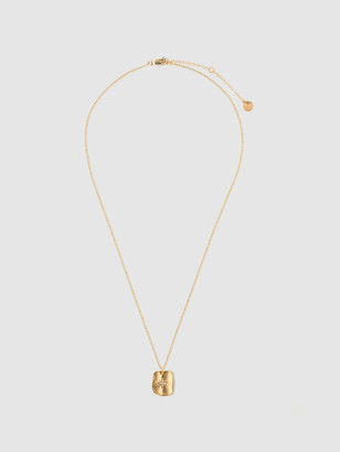 Tess + Tricia Textured Star Gold Necklace