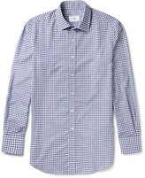Dunhill Slim-fit Gingham Cotton Shirt