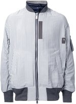 Sacai pinstriped bomber jacket - men - Polyester - 1