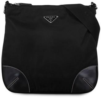 Prada Pre-Owned Logo-Plaque Crossbody Bag