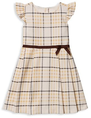 Janie and Jack Baby's, Little Girl's & Girl's Plaid Pleated Dress