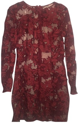 Topshop Tophop Red Dress for Women