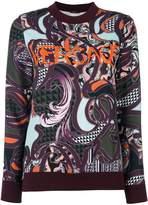 Versace Baroccoflage logo jumper