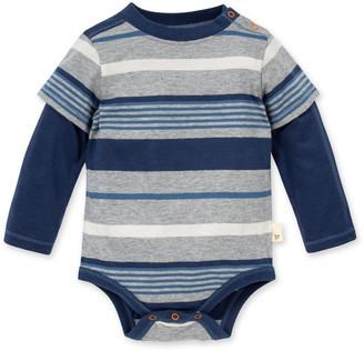 Burt's Bees Multi Stripe Organic Baby 2fer Bodysuit