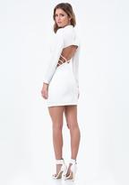 Bebe Bancroft Open Back Dress