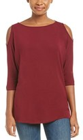 Michael Stars Cold-shoulder Dolman Top.