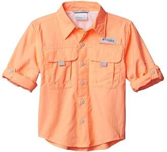 Columbia Kids Bahamatm L/S Shirt (Little Kids/Big Kids) (Cool Grey) Boy's Short Sleeve Button Up